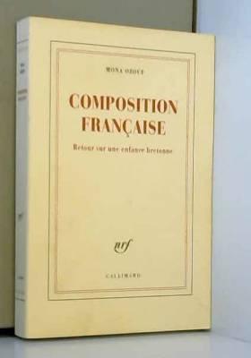 Composition française:...