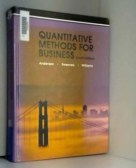 David Ray Anderson et etc. - Quantitative Methods for Business