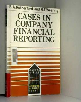 Cases in Company Financial Reporting (Harper & Row series in accounting and finance)