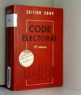 Bernard Maligner - Code électoral