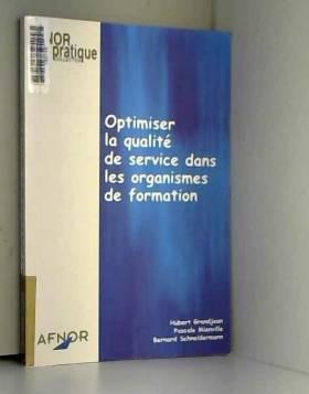 Optimiser la qualité de...