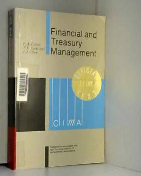 P. A Collier - Financial and treasury management