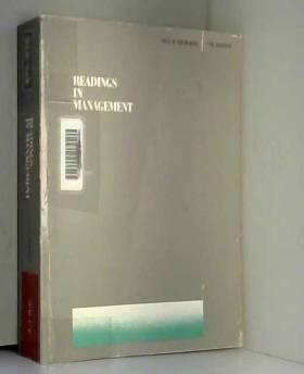 Max D. Richards et William A. Nielander - Readings in Management