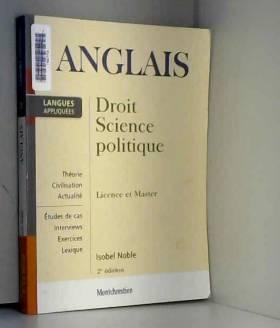 Anglais appliqué : Droit,...
