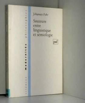 Saussure : Entre...