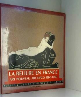 La Reliure en France - Art...