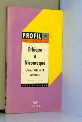 Ethique à Nicomaque de...