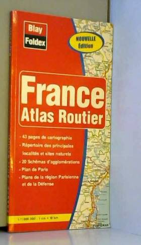 Atlas routiers : France
