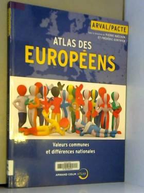 Atlas des Européens:...
