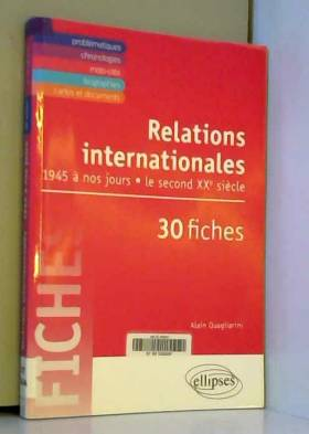 Relations Internationales...