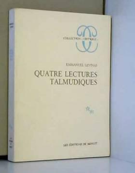 Quatre lectures talmudiques