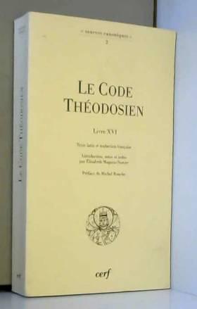 Le Code  théodosien (Livre...