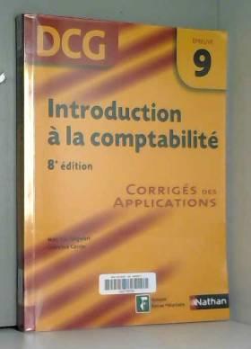 Laurence Cassio et Jean-Luc Siegwart - Introduction à la comptabilité