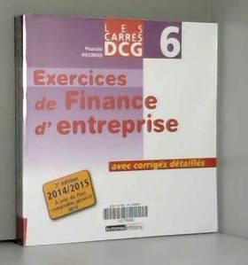 DCG 6 Exercices de finance...