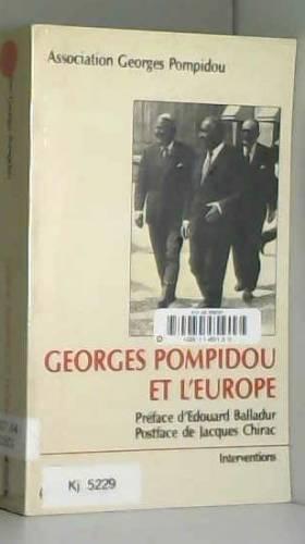 Georges Pompidou et l'Europe