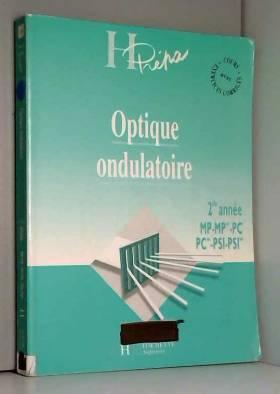 OPTIQUE ONDULATOIRE. : 2nde...
