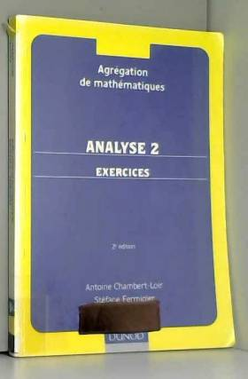 Analyse 2, exercices....