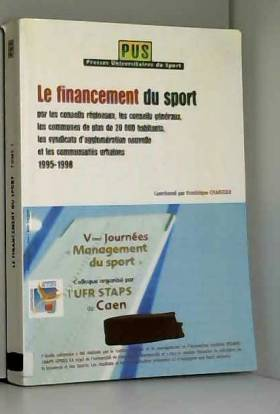 Le financement du sport....