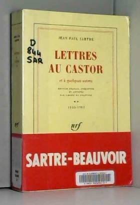 Lettres au Castor et à...