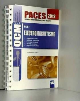 Electromagnétisme UE3.1