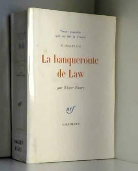 La Banqueroute de Law (17...