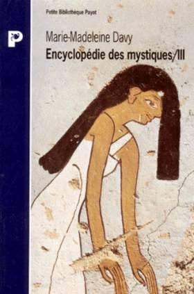 ENCYCLOPEDIE DES MYSTIQUES....