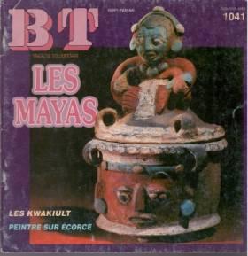 collectif - Les Mayas/ Les Kwakiult/ peintre sur écorce/ BT/ magazine documentaire n° 1041