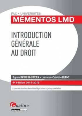 Mémentos LMD - Introduction...