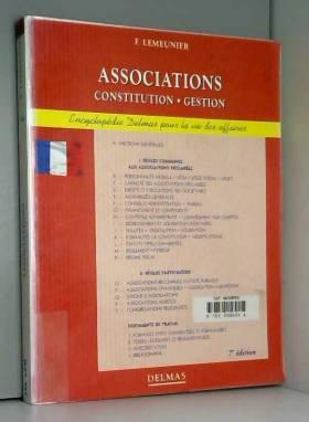 ASSOCIATIONS CONSTITUTION...