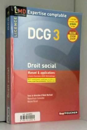 Droit social Licence DCG3 :...