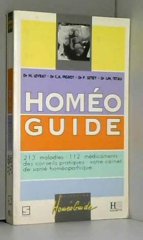 HOMEO GUIDE. 213 maladies,...