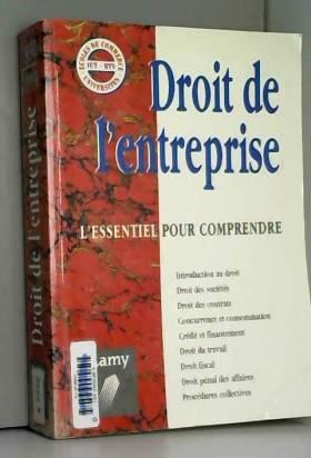 DROIT DE L'ENTREPRISE....