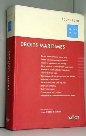 Droits maritimes 2009/2010...