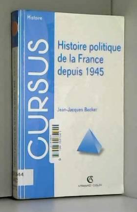 HISTOIRE POLITIQUE DE LA...