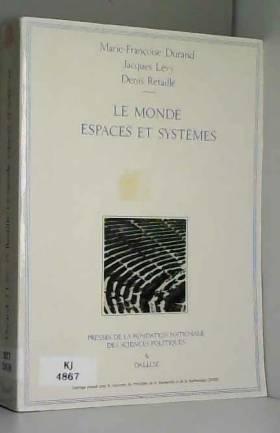 Le monde : espace et système