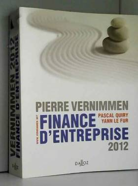 Finance d'entreprise 2012 -...