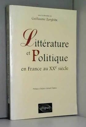 Littérature et politique en...