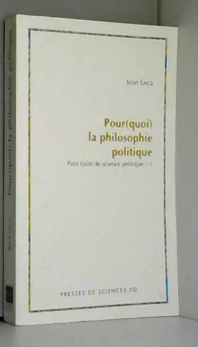 Pour(quoi) la philosophie...