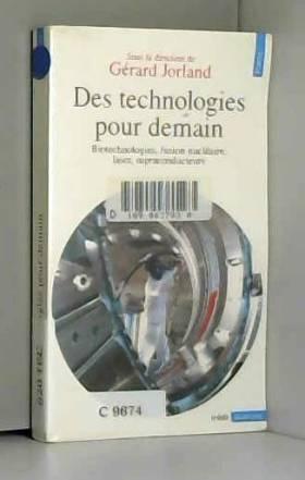 DES TECHNOLOGIES POUR...