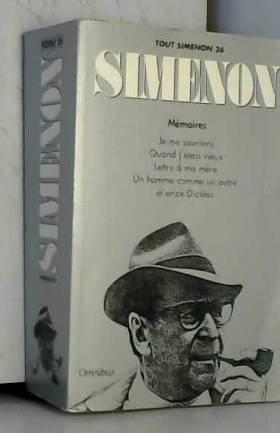 Tout Simenon, tome 26:...