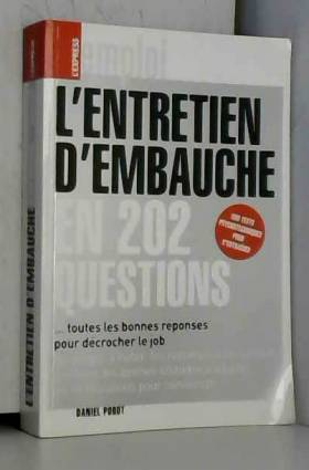 L'ENTRETIEN D'EMBAUCHE EN...