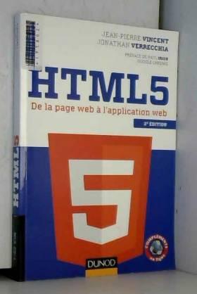 HTML5 - 2e éd. - De la page...