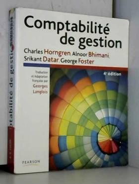 Comptabilité de Gestion 4e ed.