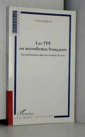 Les TPE ou microfirmes...