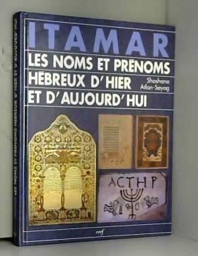 Itamar : Les Noms et...