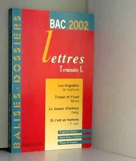 Lettres Terminales L. Bac...