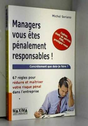 MANAGERS VOUS ETES...