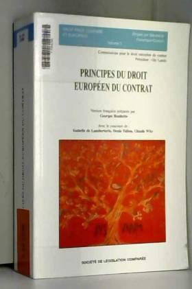 Principes du droit européen...