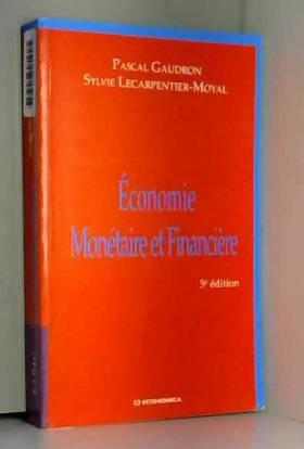 Economie monétaire et...
