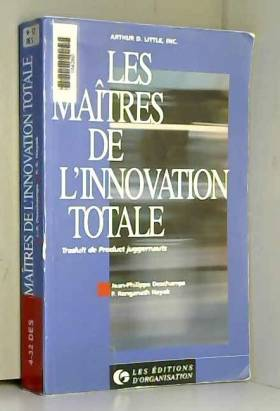 Deschamps - Maitre de l innovat total